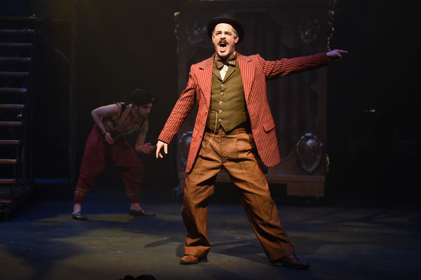 "An MFA Acting candidate performs in ""Side Show."""