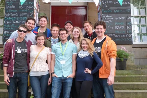 Students take an original work to the Edinburgh Festival Fringe in Scotland.
