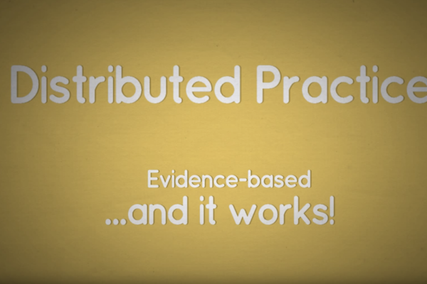 Distributed Practice Video
