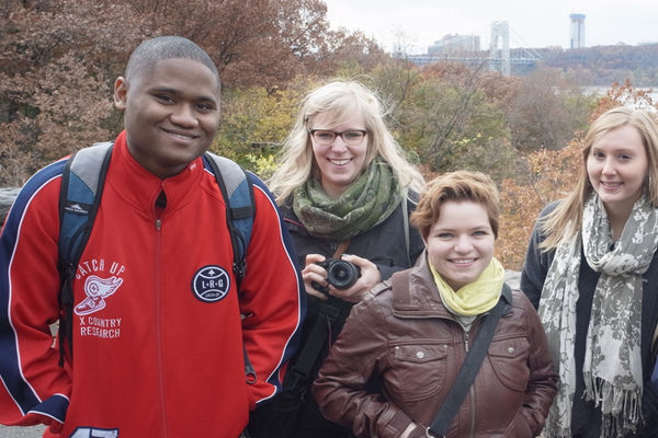 Travel Study students in NYC