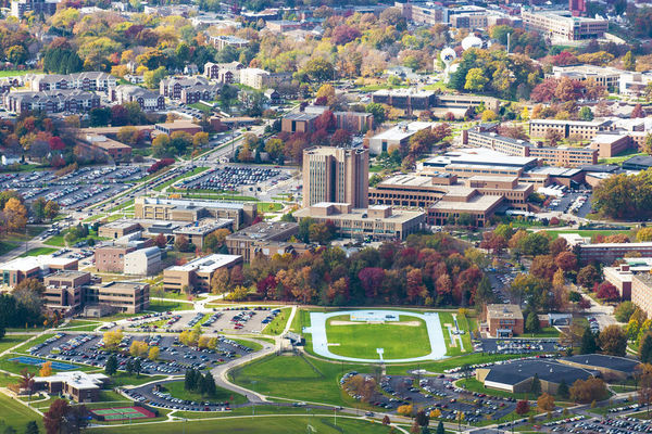 View of Kent's Main Campus