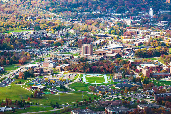 View of Kent State Campus