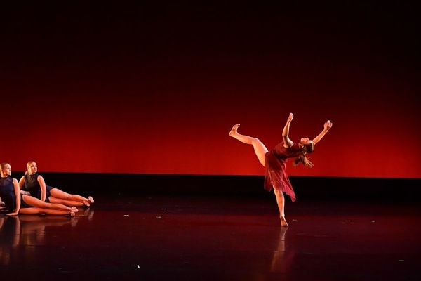 Dance students perform in concert