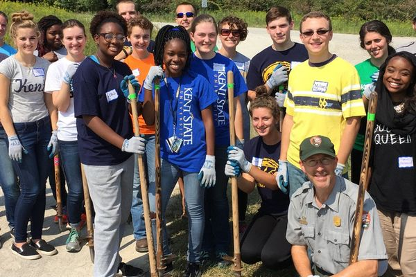 Helping to clean and help grow our community