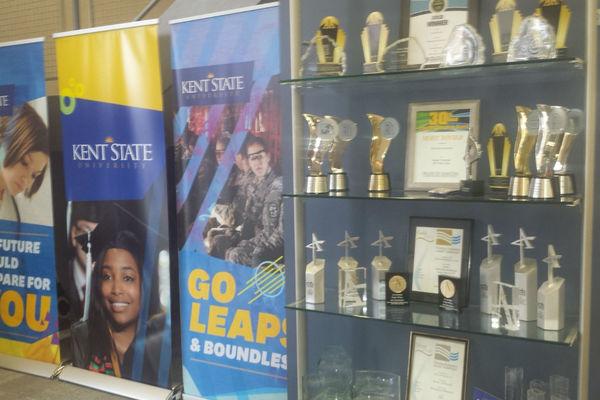 Banners and award display