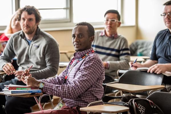 Graduate Students in Classroom