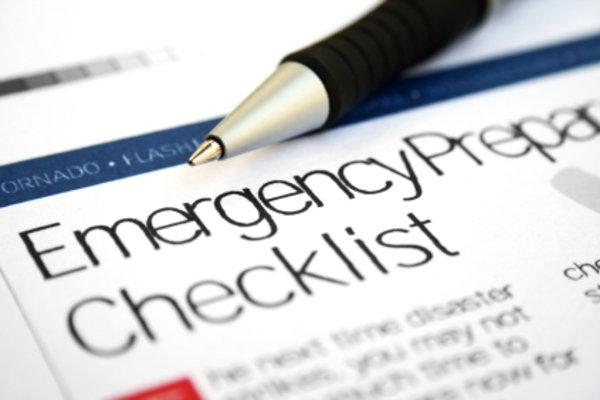 Emergency Preparation Checklist Graphic