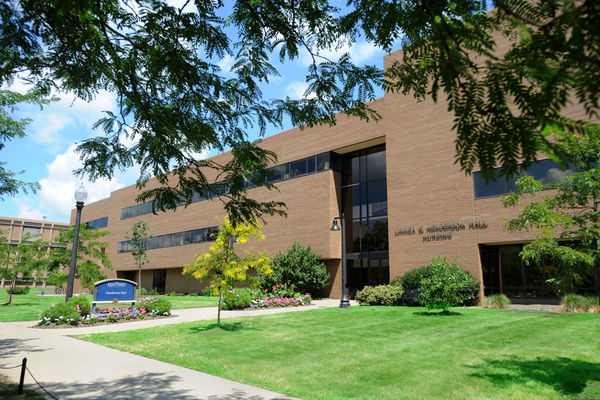 Henderson Hall, home of Kent State University College of Nursing