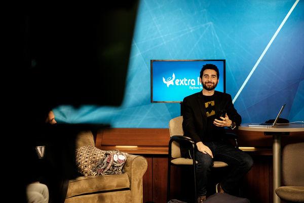 A Student Participates in TV2