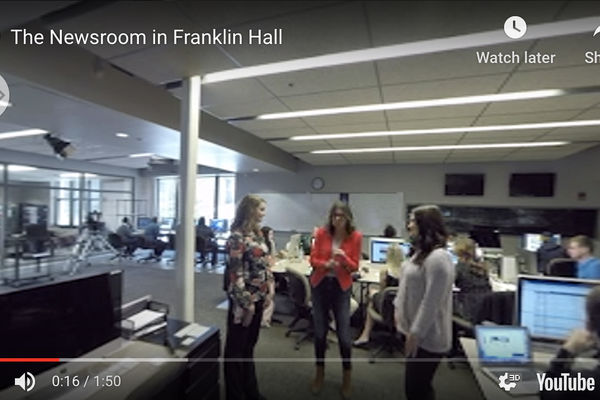 Franklin Hall Newsroom Preview