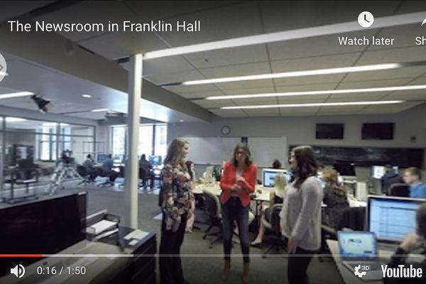 Franklin Hall Newsroom Preview