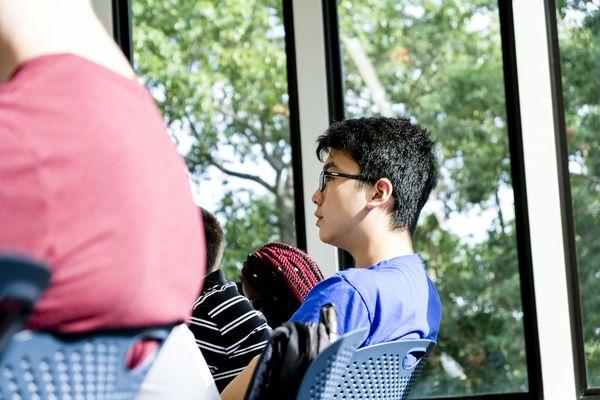 Taylor hall student