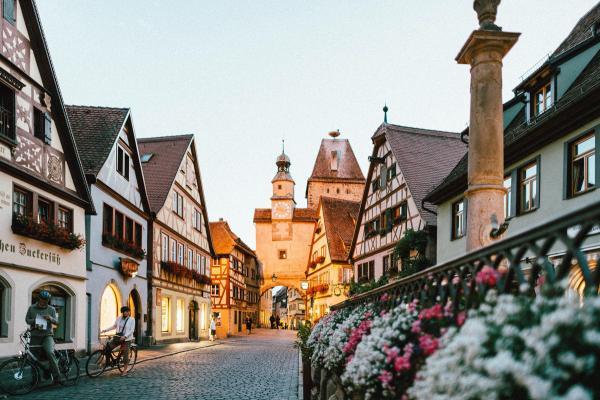 A German Village - Photo by Roman Kraft