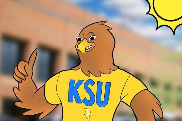Cartoon illustration of Flash