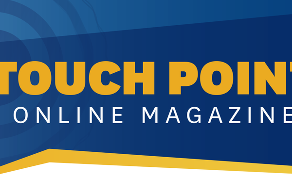 Touch Point Online Magazine Header
