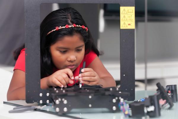 Child Kid technology summer camp winter camp online