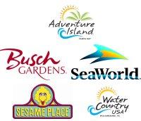 Theme Park logos