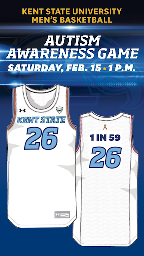 Autism Awareness Uniforms Front and Back
