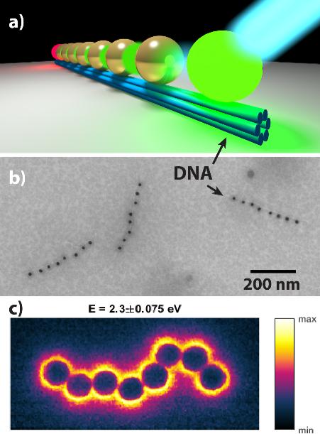 Plasmonic waveguides Schmidt Gür DNA nanotechnology