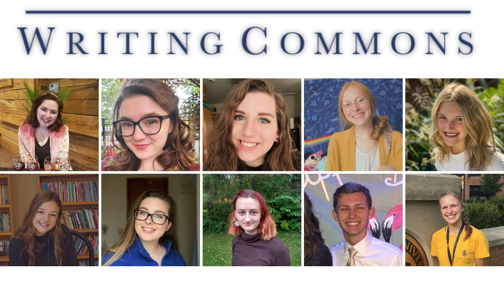 Writing Commons Staff